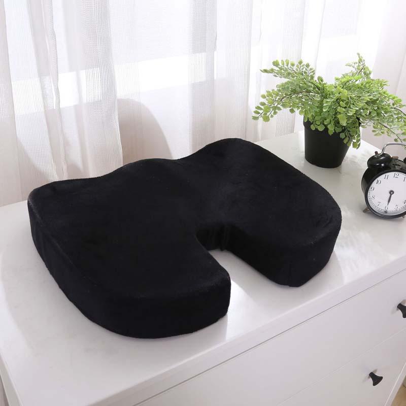 Espuma da Memória Almofada do Assento ortopédico Cadeira de Massagem cadeira de Escritório Almofada de Volta-resto Almofada Encosto de Cabeça Motorista Piloto