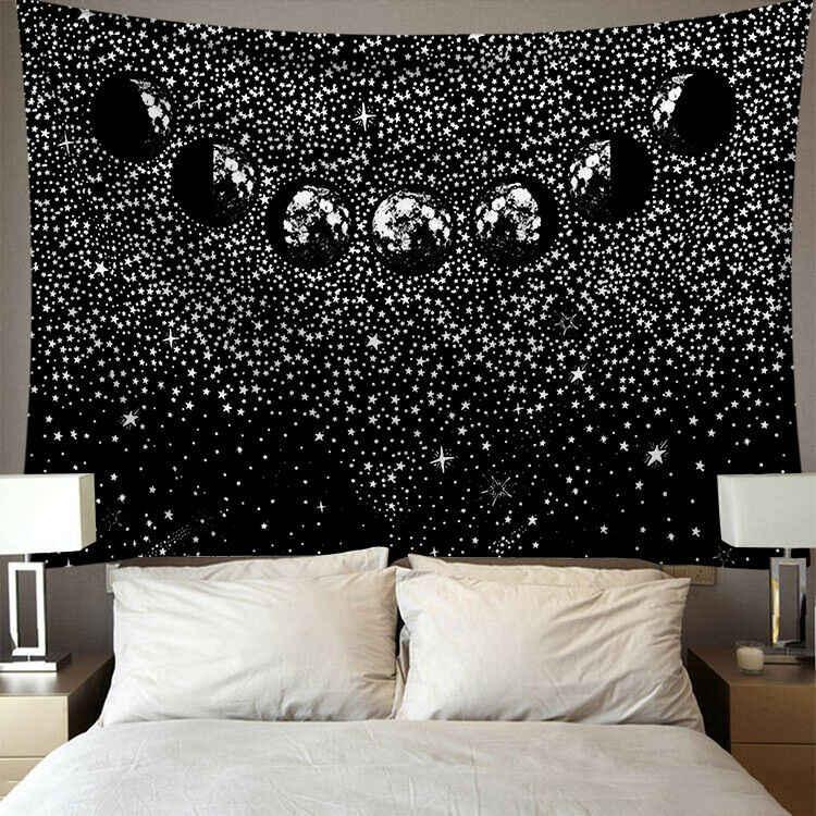 2019 曼荼羅ポリエステル 95*73 センチメートルタペストリー正方形壁掛け敷物スローヨガのための家の寝室の装飾