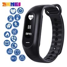 SKMEI Touch Screen Sport Smart Wristbands Multifunction Smart Bracelet Heart Rate Sleep Blood Oxyg Blood Pressure Monitor B15P skmei b15p