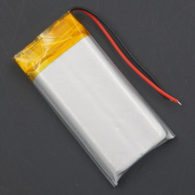 XINJ 3.7V 400mAh Lithium polymère batterie accumulateur Li ion li po cellule 502040 pour MP4 E-book téléphone montres enregistreur de conduite