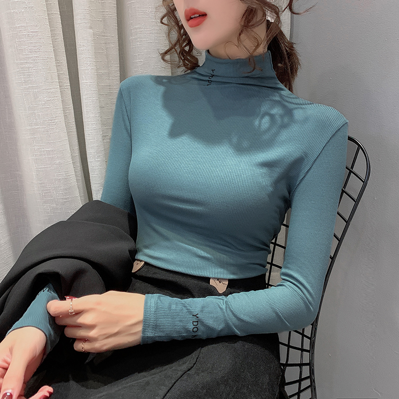 New Ladies Turtle Polo Neck Top T-Shirt Womens Short Sleeve High Neck Tee TShirt