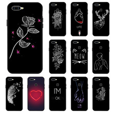 Telefoon Geval Voor Oppo A5s A3s A37 Case Silicon Case Oppo A1K A71 A59 A5 2020 A39 A57 A33 A3 reno Z Ace Realme 5 3 Pro C2 Xt Cover
