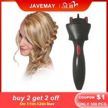 電気髪ブレイダー自動ツイストブレイダーニットデバイスヘアブレイダー機編組髪型cabelloヘアスタイリングツール