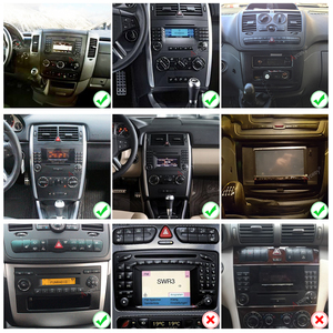 Image 5 - PX6 Car radio 1 Din Android 10 dvd GPS autoradio For Mercedes Benz B200/A B Class/W169/W245/Viano/Vito/W639/Sprinter W906 Audio