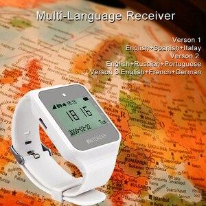 Image 4 - Retekess TD108 Horloge Ontvanger Draadloze Kelner Oproep Restaurant Pager Klantenservice Voor Keuken Cafe Fabriek Tandarts Kliniek