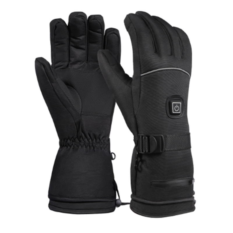 Winter Ski Warm Gloves Electric Heated Warm Gloves 3 Levels Temperature Hand Control Battery Powered Warmer For Skiing Cycling