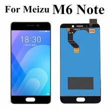 """5.5 """"dla Meizu M6 uwaga Panel wyświetlacza dotykowego LCD Digitizer zgromadzenie M721H M721Q M721M dla Meizu Meilan uwaga 6 ekran LCD"""