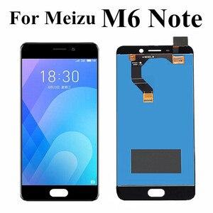 """Image 1 - 5.5 """"dla Meizu M6 uwaga Panel wyświetlacza dotykowego LCD Digitizer zgromadzenie M721H M721Q M721M dla Meizu Meilan uwaga 6 ekran LCD"""