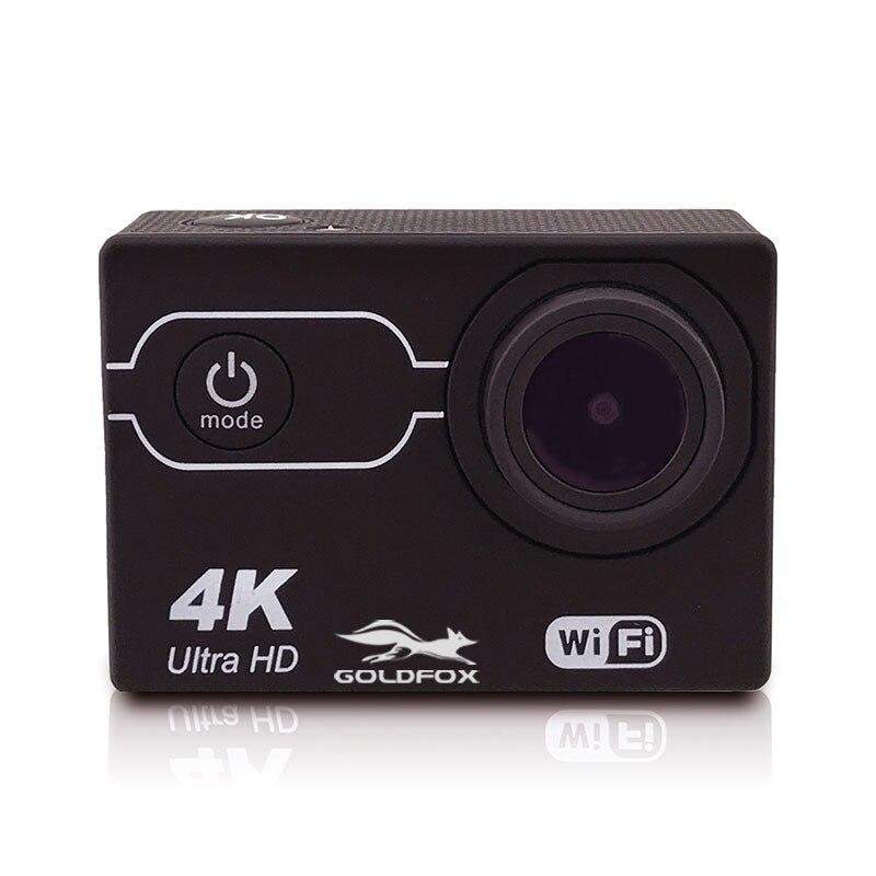 Caméra étanche 2 pouces écran caméra d'action 4K Wifi 16MP Sport DV 170 ° grand angle Mini caméra Go 30M pro étanche Sport Cam