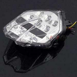 Image 5 - LED ضوء الفرامل الذيل للانتصار سرعة الثلاثي 675/R دايتونا 13 16 ، الشارع الثلاثي S 765 17 18 دراجة نارية المتكاملة الوامض مصباح