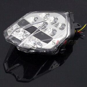 Image 5 - LED kuyruk fren lambası Triumph hız üçlü 675/R Daytona 13 16, sokak üçlü S 765 17 18 motosiklet entegre flaşör lambası