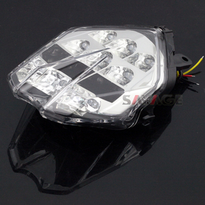 Image 5 - ไฟท้ายไฟเบรคสำหรับ Triumph Speed Triple 675/R Daytona 13 16, street Triple S 765 17 18 รถจักรยานยนต์แบบบูรณาการไฟกระพริบ