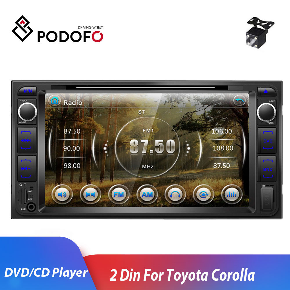 Podofo 2 Din DVD Player 7