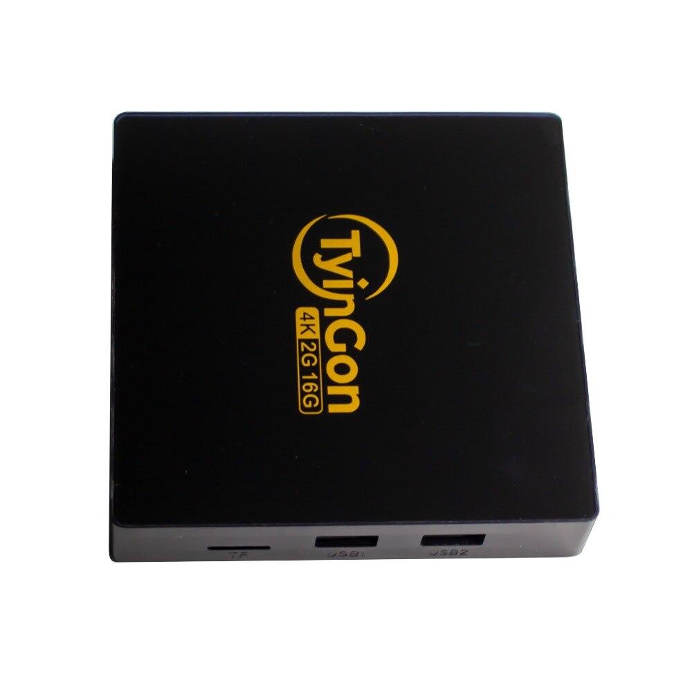 TyinGon box Android 9,0 tv box 4G 32G mit 1 jahr Französisch IPTV europa iptv Arabisch iptv 7000 + kanäle VOD seires unterstützt