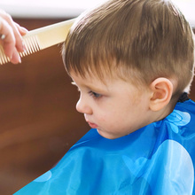 Kids Animal Patterned Cutting Barber Hairdressing Cape Kids Hair Cutting Cape
