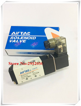 Free shipping Pneumatic Airtac Solenoid Air Valve 5 Port 2 Position 2/5 Way 1/8