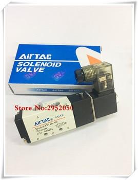 цена на Free shipping Pneumatic Airtac Solenoid Air Valve 5 Port 2 Position 2/5 Way 1/8