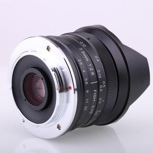 Image 5 - RISESPRAY 7.5mm f2.8 fisheye עדשת 180 APS C ידני קבוע עדשה עבור Sony E הר מכירה לוהטת משלוח חינם