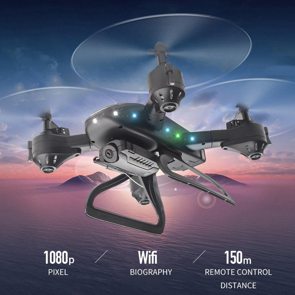 KY909 RC WiFi Дрон с 4K широкоугольной WiFi HD камерой оптический поток RC складной мини Квадрокоптер Вертолет VS LF606 E58 M69 F11