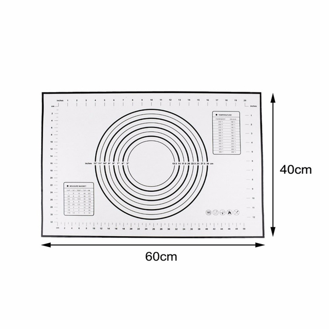 Silicone Baking Mat Pizza Dough Maker Pad Pastry Kitchen Holder Tool Gadgets Cooking Utensils Bakeware Accessories Party Wedding