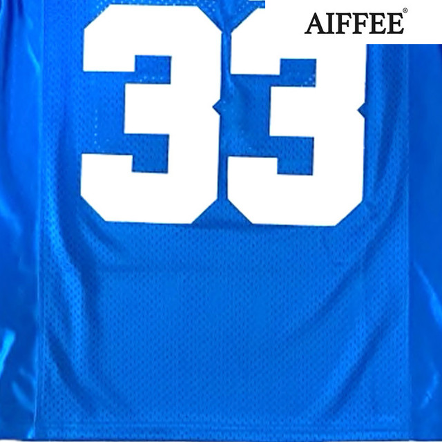 AIFFEE Football Jersey from Movie tv Hip Hop Shirts Tees t shirt Stitched Costume 44 42 13 33 45 Stitched Name and Number S-3XL 6