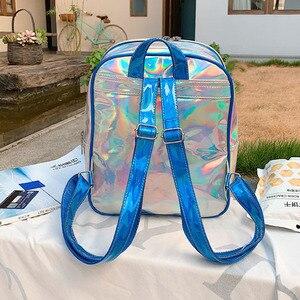 Image 2 - Sale 2020 New Ita Bag 여성용 Clear Backpack 여성용 투명 배낭 Lovely Teenage Girls 배낭 Lolita Bag Ita Bag