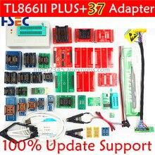 Kit programador tl866ii plus universal bios, programador original + 37 itens com adaptadores nand tl866 pic bios de alta velocidade, usb