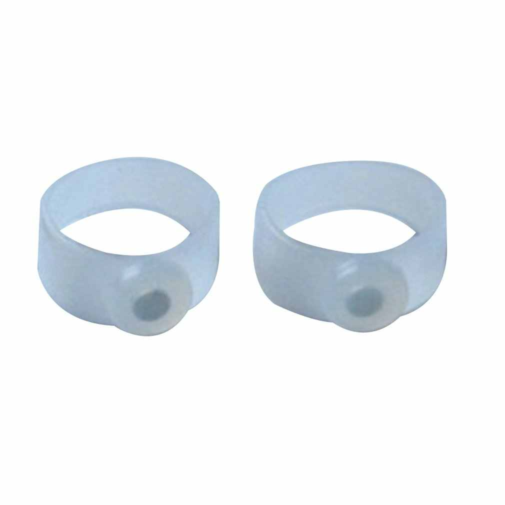 1 Pair Slimming Silicone Foot Massage Magnetic Toe Ring Fat Weight Loss Health