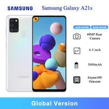 Samsung-teléfono inteligente Galaxy A21s, versión Global, 6,5