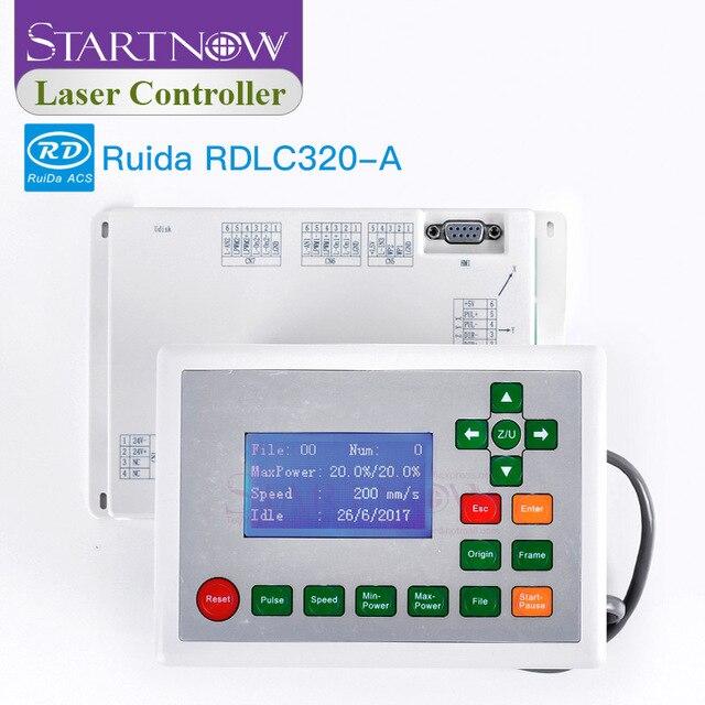 RD 320 A sterowanie laserowe karta DSP płyta główna CNC Ruida RDLC320 A do grawerowania sprzęt części zamienne sterownik laserowy CO2