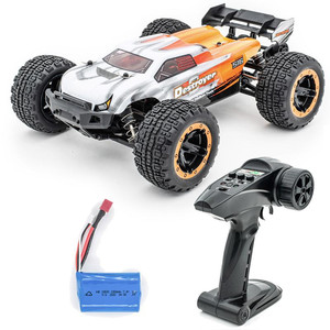2.4G Four-Wheel Drive Big Foot High-Speed Off-road RC Car HBX 2.4G 2CH 1/16 16890 RC Car Brushless Shockproof RC Car Model Gift