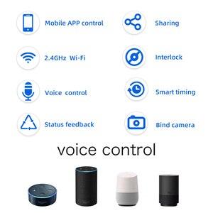 Image 2 - EWeLink interruptor WiFi con motor para cortina, módulo inteligente de bloqueo automático, interruptor de 2 canales, CC 7 32V/CA 220v, módulo wifi en casa