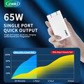 Зарядное устройство ZYG, 65 Вт, быстрая зарядка, QC4.0 PD3.0 Тип C PD Type-c, зарядное устройство с QC 4,0 3,0, портативное быстрое зарядное устройство для ноу...