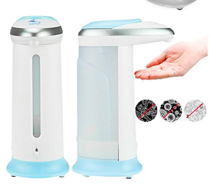 Anti-Bacterial Hand Sanitizer Automatic Soap Dispenser Touchless Infrared Sensor Alcohol Sterilizer Holder For Personal Hygiene