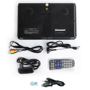 Image 5 - LEADSTAR DVB T2 de TV portátil de 10 pulgadas, HD, ATSC, ISDB T, tdt, Digital y analógico, para coche pequeño, compatible con USB, SD, MP4, H.265, AC3