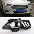 1 пара для Ford Mondeo Fusion 2013 2014 2015 2016 желтое реле сигнала поворота, водонепроницаемая автомобильная лампа DRL, светодиодсветодиодный дневные хосв...