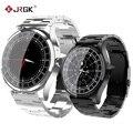 JRGK новые DT19 Bluetooth Смарт часы мужские металлические наручные часы циферблат вызов пульса кровяное давление спорт фитнес трекер SmartWatch