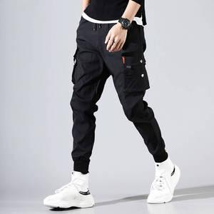 Image 5 - 2020 Bán Nam Hip Hop Miếng Dán Cường Lực Dài Thấm Hút Mồ Hôi Cho Quần Jogger Quần Áo Dây Rút Sportwear Quần Nam Hiphop Cá Tính Quần