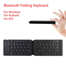 Light-Handy Bluetooth Folding Mini Backlit Keyboard Foldable Wireless Keypad For IOS/Android/Windows Ipad Tablet Laptop Computer