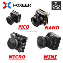 كاميرا فوكسير رايزر صغيرة/رايزر مايكرو/رايزر نانو 1200TVL PAL/NTSC قابلة للتبديل 4:3 16:9 كاميرا FPV للسباق بدون طيار نسخة محدثة