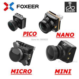 Image 1 - Foxeer Razer Mini / Razer Micro/ Razer NANO 1200TVL PAL/NTSC Switchable 4:3 16:9 FPV Camera For FPV Racing Drone upgrade version