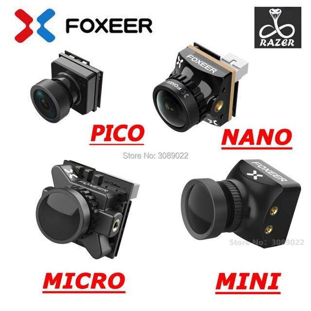 Foxeer Razer Mini / Razer Micro/ Razer NANO 1200TVL PAL/NTSC Switchable 4:3 16:9 FPV Camera For FPV Racing Drone upgrade version