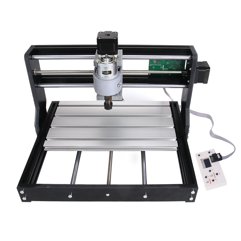 Offline Version 1810 PRO 3-Axis CNC Router GRBL Control DIY Adjustable Speed Spindle Motor Wood Laser Engraving Lazer Machine