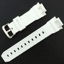 New 16mm White PU Replace G-shock Watch Band Strap Fits G5600 Series 6900 9052