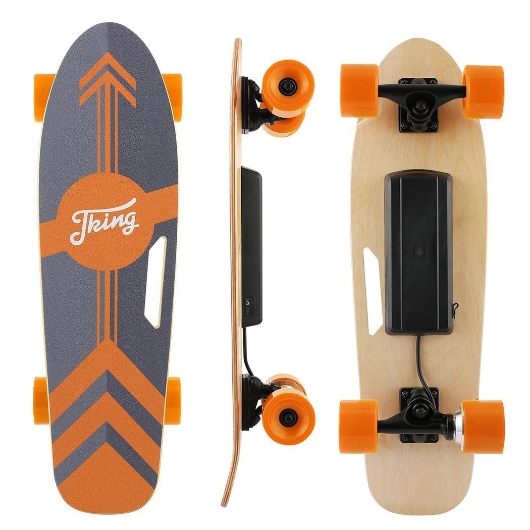 PU Wheel 3-Speed Electric Skateboard Lithium Battery Powered with Remote Controller 29.4V 2000mah Lithium Battery Maple Deck 6