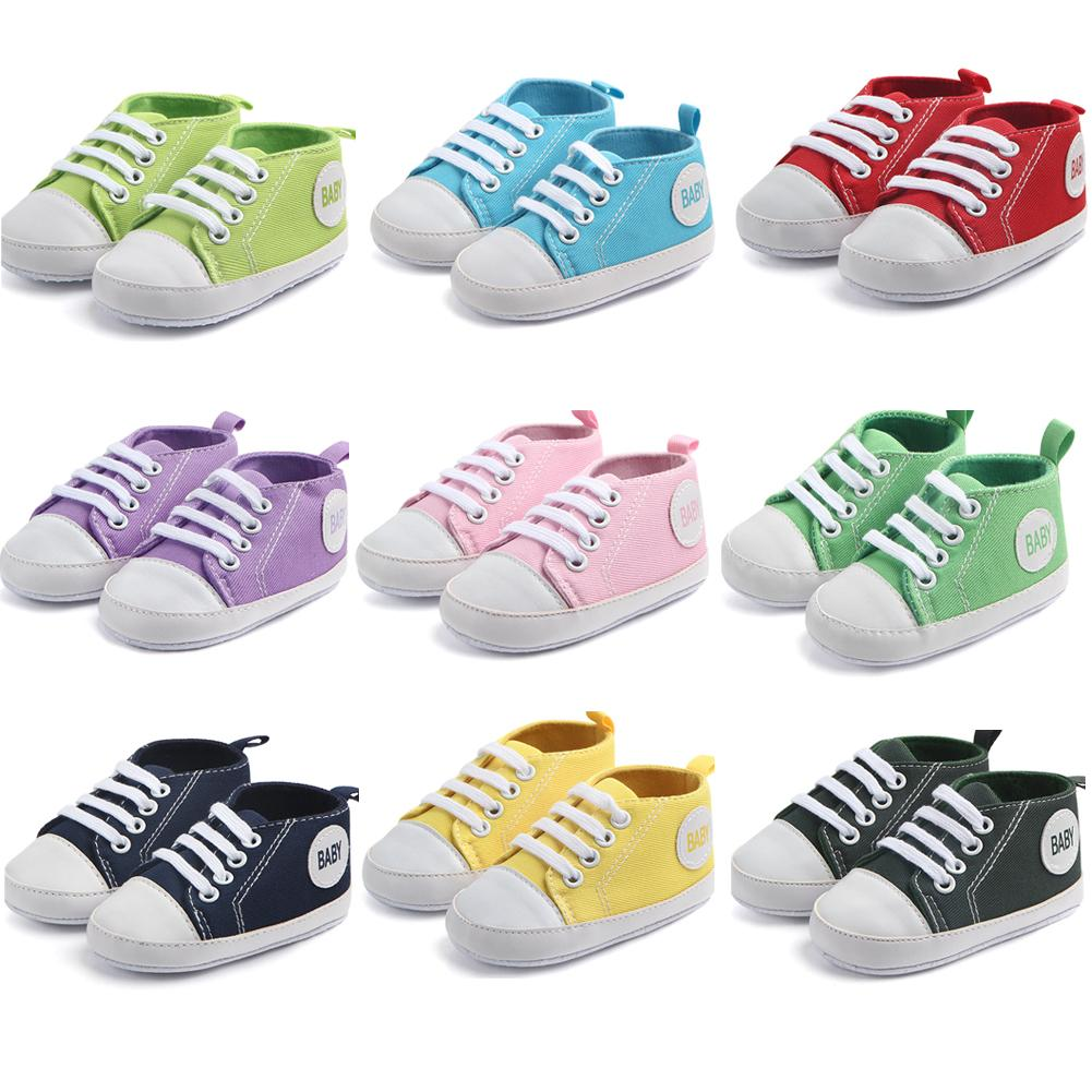 Fashion Toddler Baby Boy Girl Shoes Toddler Baby Boy Girl Casual Sneakers Anti-slip Soft Insole Prewalker Crib Shoes