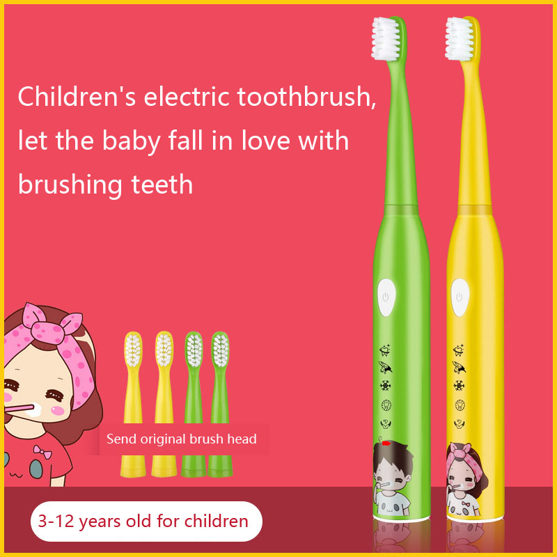 Electric toothbrush 5 files whitening rechargeable sonic vibration waterproof boys and girls electric toothbrush SU218 image