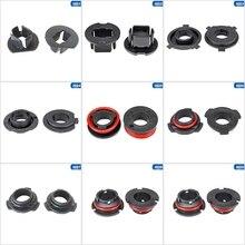 Luz LED para faro delantero de coche, porta adaptador de bombilla Base, enchufes, retenedor para H1 H3 H4 H7 H11 H13 9004 9005 9006 9007, 1 par