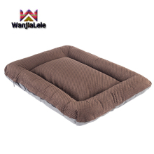 Soft pet dog bed Washable dog pad Crate kennel Anti-slip bottom Mattress Indoor outdoor Pet mat For large medium small cats dogs luxury crate mattress dog bed in pewter bones grey