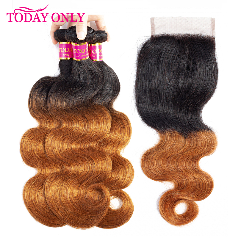 TODAY ONLY <font><b>Peruvian</b></font> Hair 4 <font><b>Bundles</b></font> <font><b>With</b></font> <font><b>Closure</b></font> <font><b>Ombre</b></font> <font><b>Body</b></font> <font><b>Wave</b></font> <font><b>Bundles</b></font> <font><b>With</b></font> <font><b>Closure</b></font> Remy Human Hair <font><b>Bundles</b></font> <font><b>With</b></font> <font><b>Closure</b></font> 1b 30 image